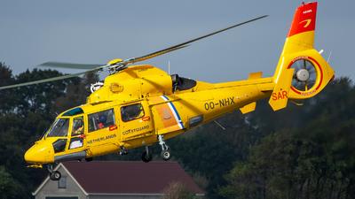 A picture of OONHX - Airbus Helicopters AS365 Dauphin - Noordzee Helikopters Vlaanderen - © Dutch