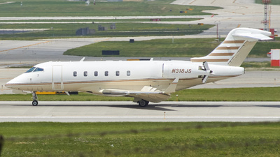 N318JS - Bombardier BD-100-1A10 Challenger 300 - Private