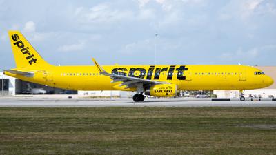 N662NK - Airbus A321-231 - Spirit Airlines
