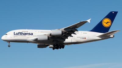 D-AIMM - Airbus A380-841 - Lufthansa