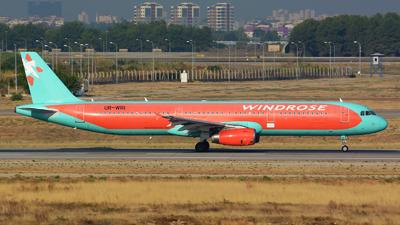 UR-WRI - Airbus A321-231 - Wind Rose Aviation