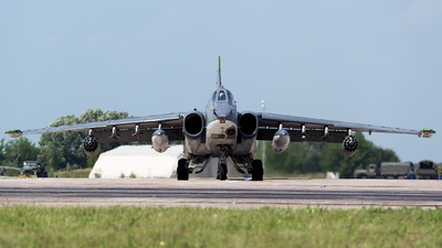 RF-93884 - Sukhoi Su-25SM Frogfoot - Russia - Air Force