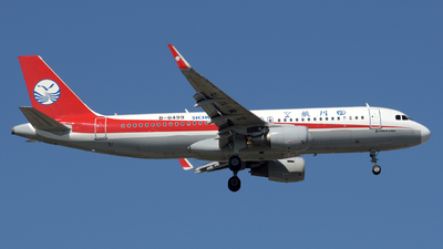 A picture of B8499 - Airbus A320214 - Sichuan Airlines - © ShepherdWang