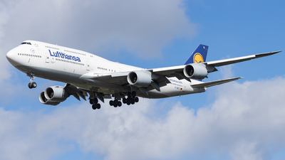 A picture of DABYC - Boeing 747830 - Lufthansa - © Mika Abs