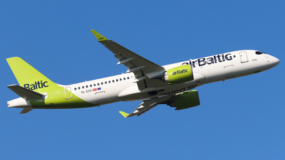 A picture of YLCSC - Airbus A220300 - Air Baltic - © Joost Alexander