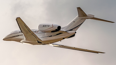 N287TG - Cessna 750 Citation X - Private