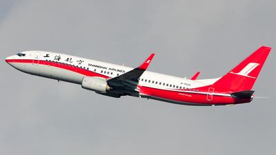 B-5545 - Boeing 737-8Q8 - Shanghai Airlines
