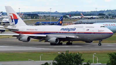 9M-MPQ - Boeing 747-4H6 - Malaysia Airlines