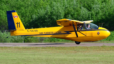 C-GCSD - Schweizer SGS 2-33A - Air Cadet League of Canada