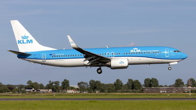 A picture of PHBXU - Boeing 7378BK - KLM - © Kris Van Craenenbroeck