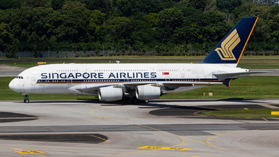 A picture of 9VSKL - Airbus A380841 - Singapore Airlines - © Sua Ding Zhe