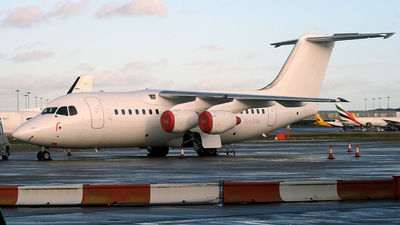 G-LENM - British Aerospace Avro RJ85 - Cello Aviation