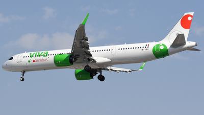 A picture of XAVBK - Airbus A321271NX - VivaAerobus - © Francisco Enrique Islas