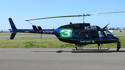 N3QY - Bell 206L-4 Long Ranger IV - KCRA Channel 3 News Sacramento