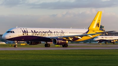 G-OZBF - Airbus A321-231 - Monarch Airlines