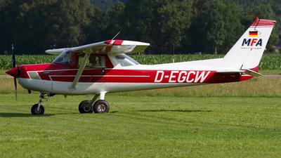 D-EGCW - Reims-Cessna F152 - Munich Flight Academy
