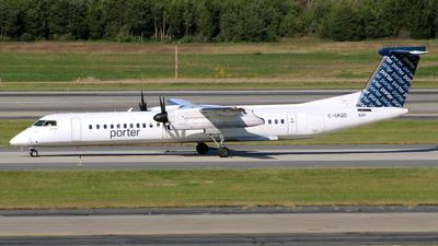 A picture of CGKQD - De Havilland Canada Dash 8400 - Porter Airlines - © wangruoyao