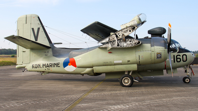 160 - Grumman US-2N Tracker - Netherlands - Navy