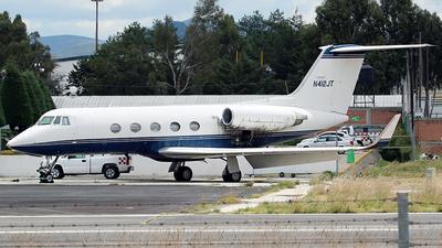 N412JT - Gulfstream G-II(SP) - Private