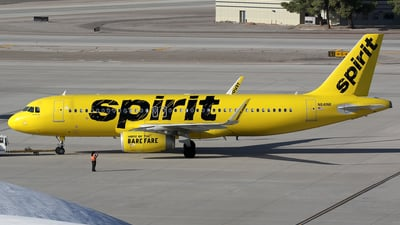 N641NK - Airbus A320-232 - Spirit Airlines