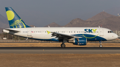 CC-AID - Airbus A319-111 - Sky Airline