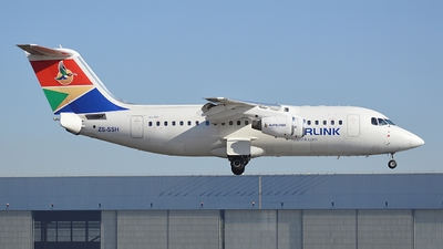 ZS-SSH - British Aerospace Avro RJ85 - Airlink