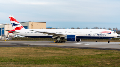 G-STBO - Boeing 777-336ER - British Airways
