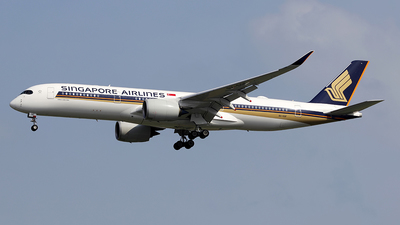 9V-SGF - Airbus A350-941 - Singapore Airlines