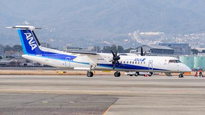 A picture of JA465A - De Havilland Canada Dash 8400 - All Nippon Airways - © Tsumugu Ono