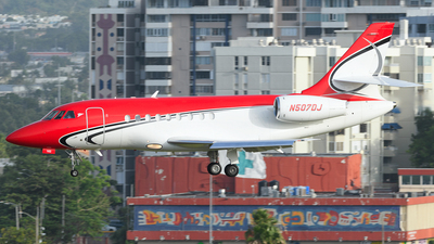 N507DJ - Dassault Falcon 2000 - Private