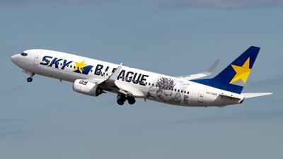 JA73NY - Boeing 737-86N - Skymark Airlines