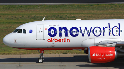D-ABHO - Airbus A320-214 - Air Berlin