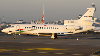 D-AGBB - Dassault Falcon 8X - VW Air Services