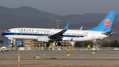 B-1153 - Boeing 737-81B - China Southern Airlines