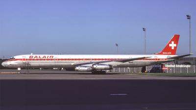 HB-IDZ - Douglas DC-8-63(PF) - Balair