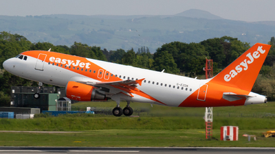 A picture of GEZDK - Airbus A319112 - easyJet - © Jess Hall