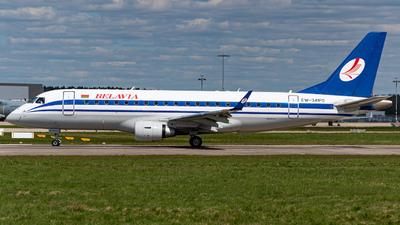 A picture of EW341PO - Embraer E175LR - Belavia - © Niclas Rebbelmund