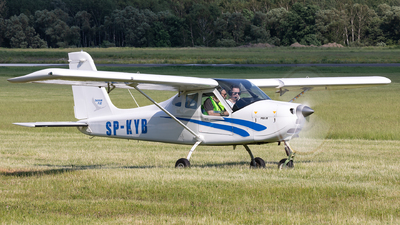 SP-KYB - Tecnam P92 Echo JS - Aero Club - Slaski