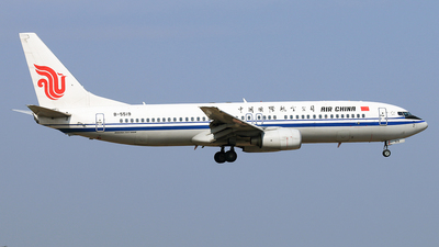 B-5519 - Boeing 737-86N - Air China