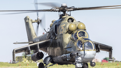 RF-93544 - Mil Mi-24P Hind F - Russia - Air Force