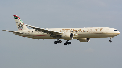 A6-ETI - Boeing 777-3FXER - Etihad Airways