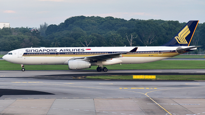 9V-STY - Airbus A330-343 - Singapore Airlines