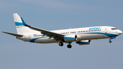 SP-ENP - Boeing 737-8AS - Enter Air