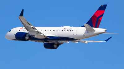 N113DQ - Airbus A220-171 - Delta Air Lines
