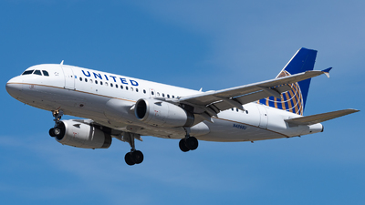 A picture of N4888U - Airbus A319132 - United Airlines - © Haocheng Fang