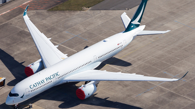 F-WZFO - Airbus A350-941 - Cathay Pacific Airways