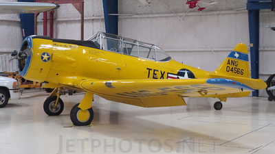 N566TX - North American SNJ-5 Texan - Private