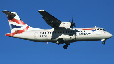 G-BVEF - ATR 42-300 - British Airways Express (Cityflyer Express)