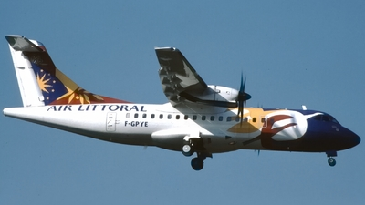 F-GPYE - ATR 42-500 - Air Littoral