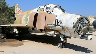 285 - McDonnell Douglas F-4E Phantom II - Israel - Air Force
